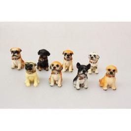 Pes dekorácia 5x7,5cm mix