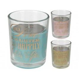 Sviečka vonná v pohári