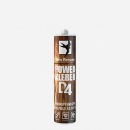 Den Braven Power Kleber D4 - Vysokopevnostné PU lepidlo na drevo - Krémová - 300 ml