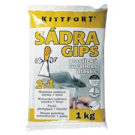 KITTFORT Sadra plastická - biela - 2,5 kg