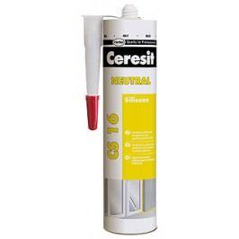 HENKEL Ceresit CS16 neutrálny silikón - biela - 300 ml