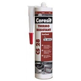 HENKEL Ceresit CS28 Thermo resistant - tepelne odolný silikón - červený - 300 ml