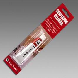 Den Braven Sanitárny silikón - pružný a odolný silikón - hnedá - 310 ml