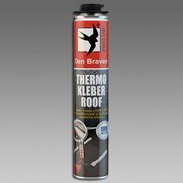 Den Braven Thermo Kleber Roof - polyuretánové lepidlo na strechy - žltá - 750 ml