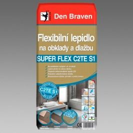 Den Braven Flexibilné lepidlo na obklady a dlažbu - Quatrz flex C2TE S1 - šedá - 25 kg