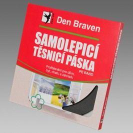 Den Braven Samolepiaca tesniaca páska do okien a dverí - šedá - 9mmx2 mm