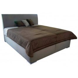 Monte 180x200 cm, béžová tkanina/deka/vakúše