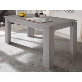 Universal 160x90 cm, šedý beton