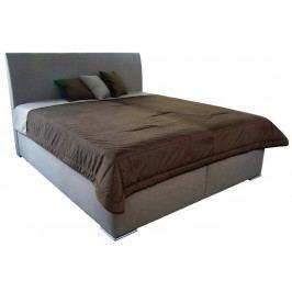 Monte 160x200 cm, béžová tkanina / deka / vankúše