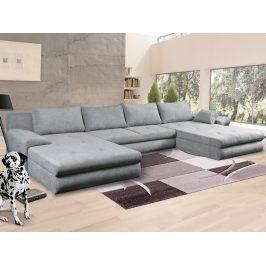 Bono Maxi, tvar U, svetlo šedá látka