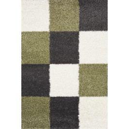 Šachovnicový koberec SHAGGY 91065 80x150