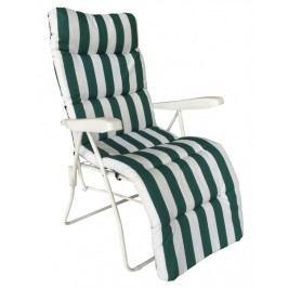 Rhodos, bielo-zelené, polohovateľné
