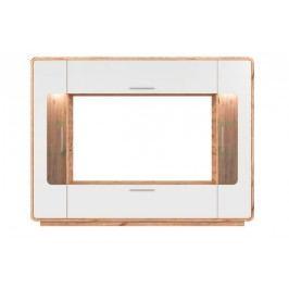 Tv panel led anser dub wotan/biely lesk