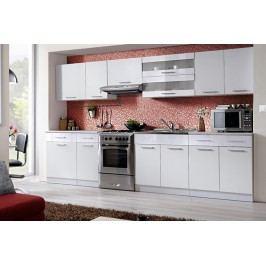 Kuchyňa tina 320 biela/biely lesk
