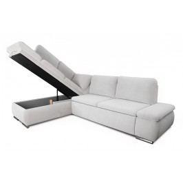 Rohová sedacia súprava form - ľahkočistiaci materiál - výpredaj