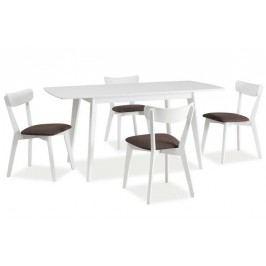 Komplet - stôl combo ii + 4 stoličky cd-23