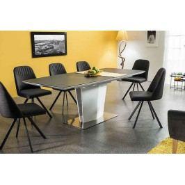 Komplet - stôl lazzio + 6 stoličiek milton