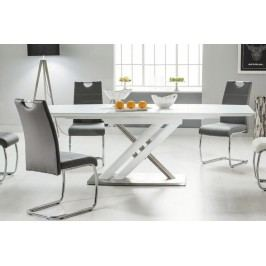 Komplet - stôl alzano + 4 stoličky h-666