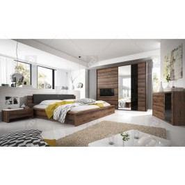 Spálňa iv indira + posteľ 160 s vnútorným úložným priestorom+ komoda