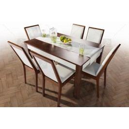Komplet malta: stôl + 6 stoličiek