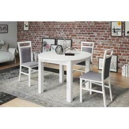 Komplet: stôl uran 1 + 4 stoličky meris 101