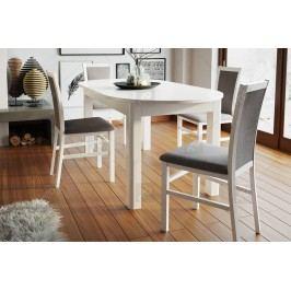 Komplet: stôl neptun 1 + 4 stoličky saturn 101