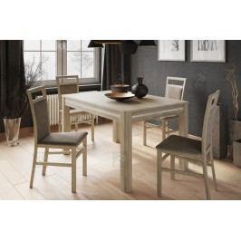 Komplet: stôl sunny 1 + 4 stoličky meris 101