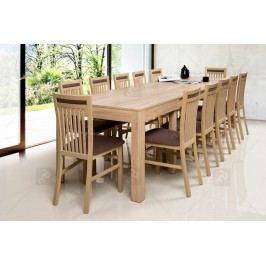 Komplet: stôl wenus 40 + 12 stoličiek mars 131