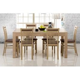 Komplet: stôl wenus 40 + 6 stoličiek mars 131