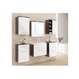 Kúpeľňový nábytok gimi 6 venge/bílý mat
