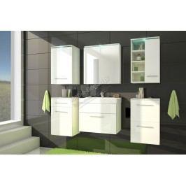 Kúpeľňový nábytok gimi 5 bílý/bílý lesk