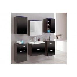 Kúpeľňový nábytok gimi 4 venge/černý lesk