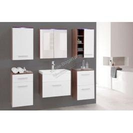 Kúpeľňový nábytok gimi 3 švestka/bílý mat