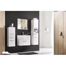 Kúpeľňový nábytok polo biely lesk