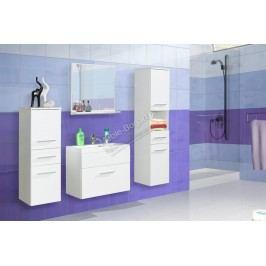 Kúpeľňový nábytok polo biely + biely laminát