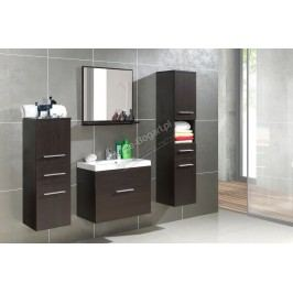 Kúpeľňový nábytok polo venge + laminát v prevedení venge