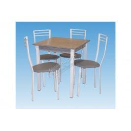 Komplet stôl westa + 4 stolička alex