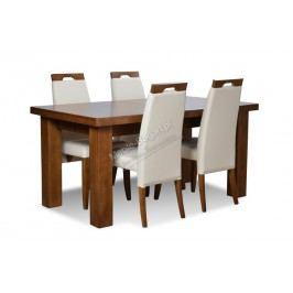 Komplet - stôl santa + 4 stoličky arte 2