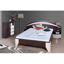 Komplet dome - posteľ dl1-1 + dva nočné stolíky + komoda dx1