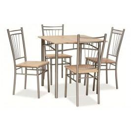 Komplet fit - stôl + 4 stoličky