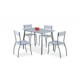Komplet modus - stôl + 4 stoličky
