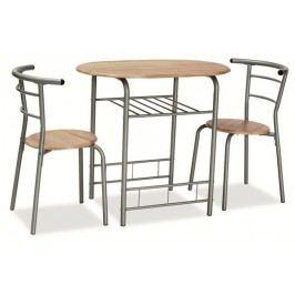 Komplet gabo - stôl + 2x stoličky