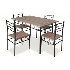 Komplet esprit - stôl + 4 stoličky