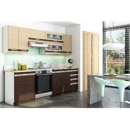 Lungo & macchiato 1,8 x 2,4 m - komplet kuchynského nábytku