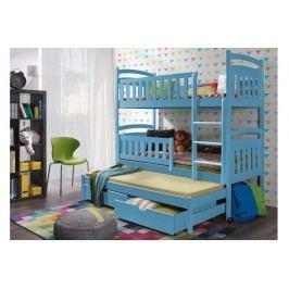 Poschodová posteľ pati 80 x 190