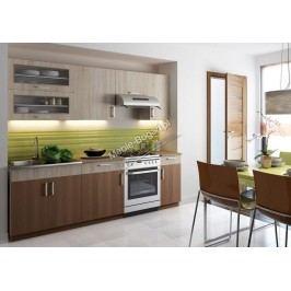Blanka 2,6 m - komplet kuchynského nábytku - akcia