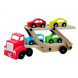 BINO - 84075 Ťahač s autami