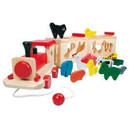 84166 Drevený vlak so zvieratkami - Zoo Trenino