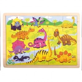 Bino - 88079 Puzzle Dinosaury