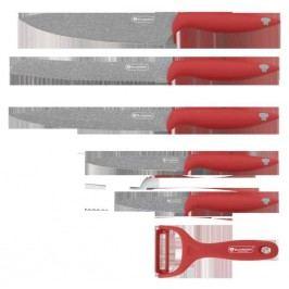 BLAUMANN - Nože sada 5 ks + škrabka,BL-KS-0015